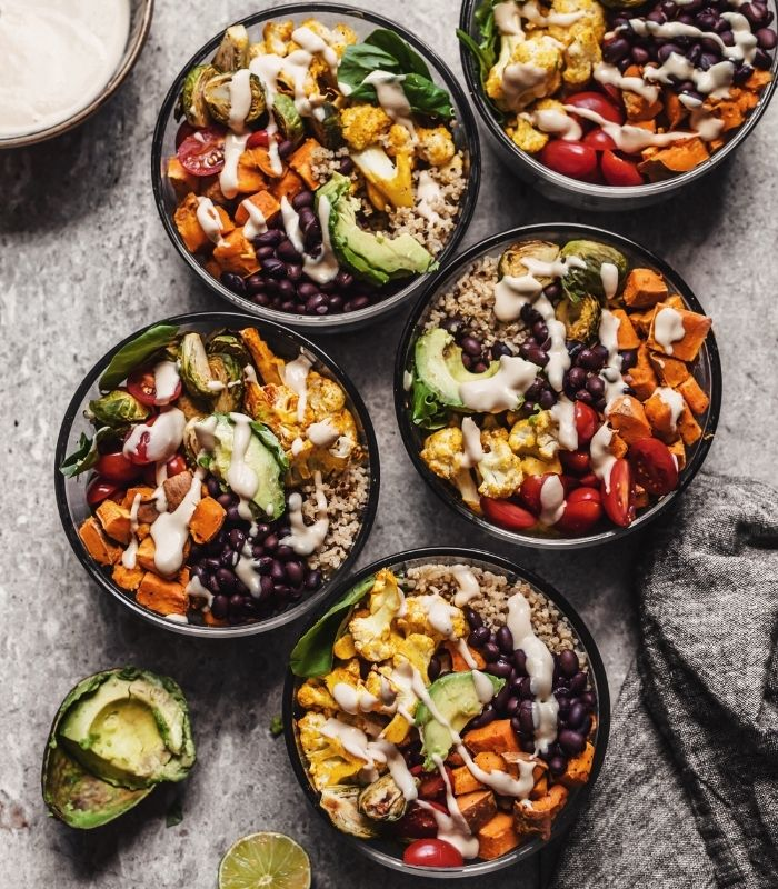 15 Healthy and Delicious Buddha Bowls_Buddha Bowl_Roasted Vegetable Quinoa Buddha Bowl