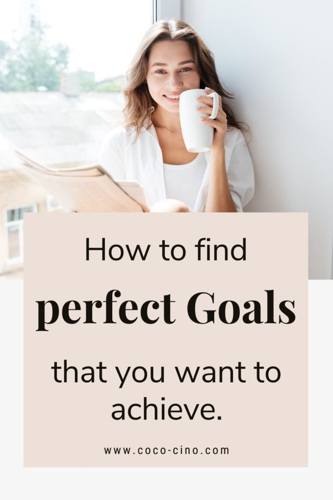 Goal setting_how to find perfect goals that you want to achieve_girl with tea cup sitting on window and reading