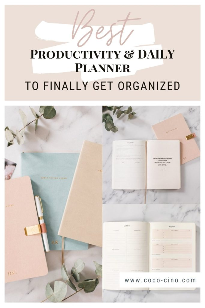 Productivity Planner_Different productivity and daily planner