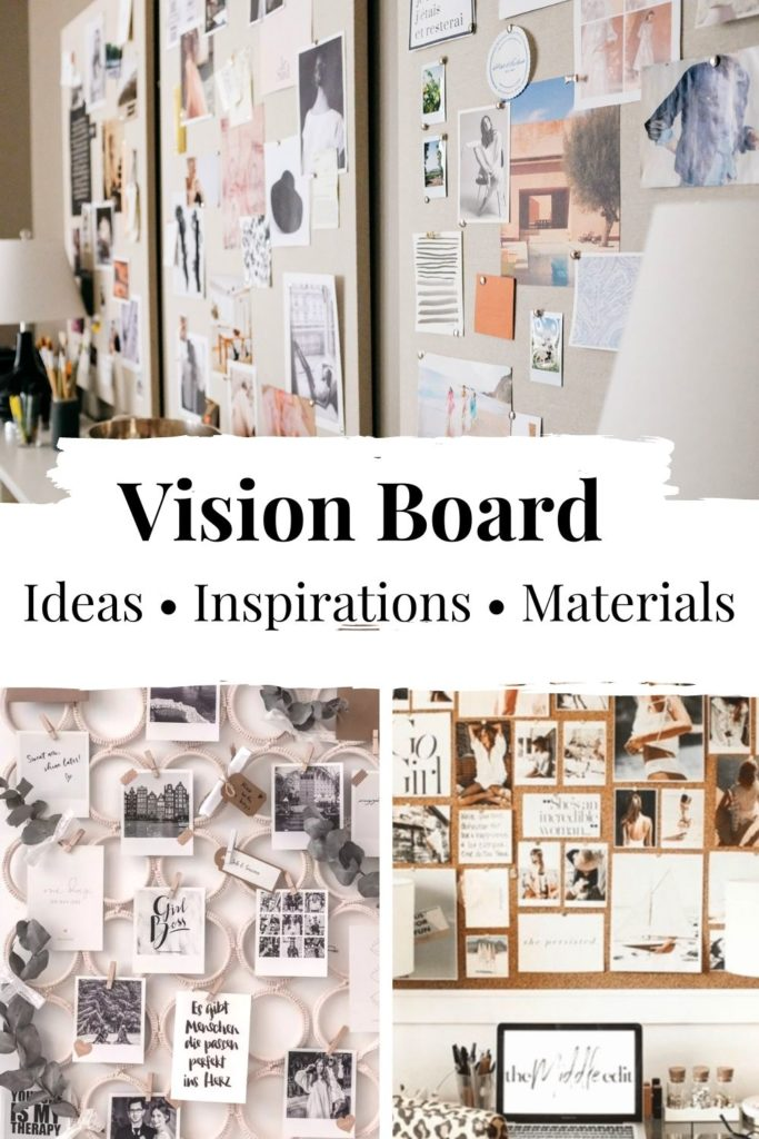 Vision Board Ideas_three different vision boards