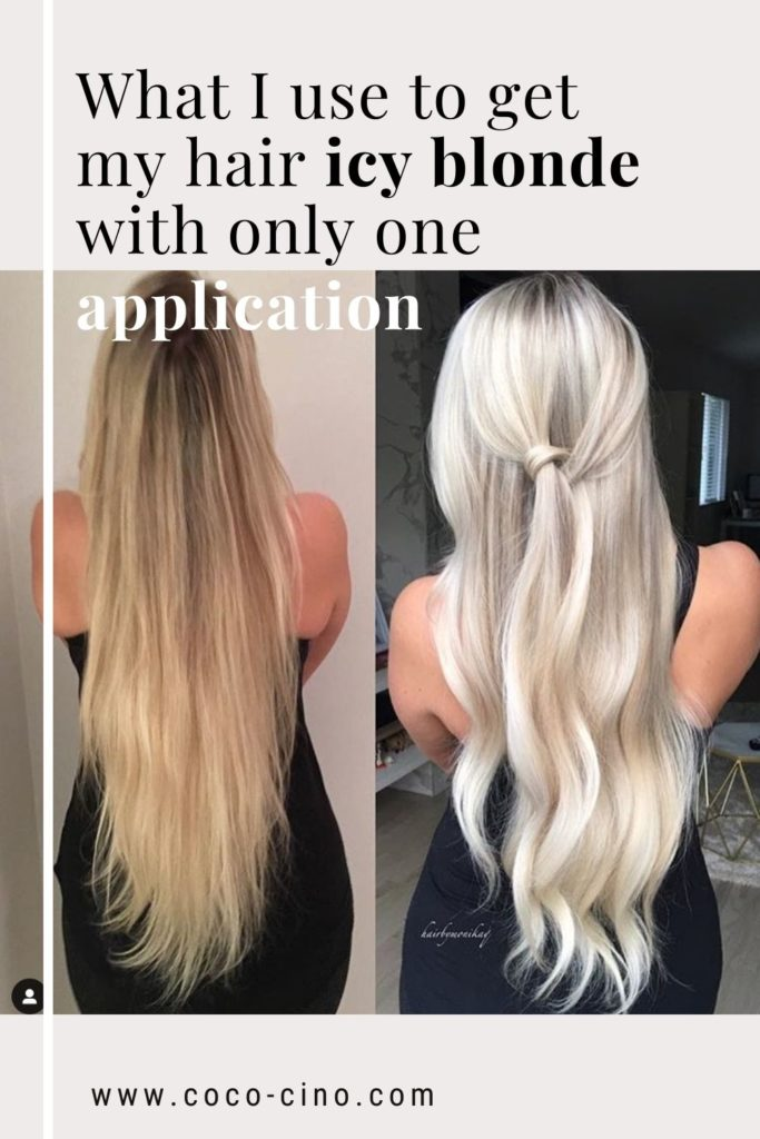 The absolute best silver shampoo_Icy Blonde Hair_Before and After_Girl with blonde long hair_Fanola Silver Shampoo