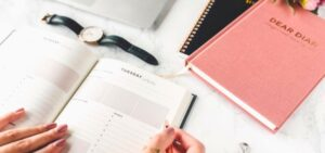 Productivity Planner_Daily Planner_pink