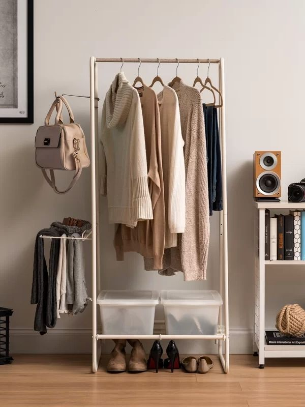 Clothing Rack_Multifunctional Garment and Accessories Rack