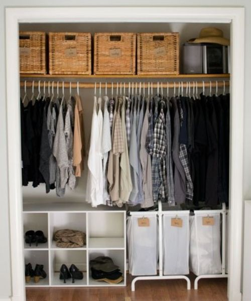Inspirations & Storage Essentials for an organised and stylish wardrobe_cheap and Small Closet Solution