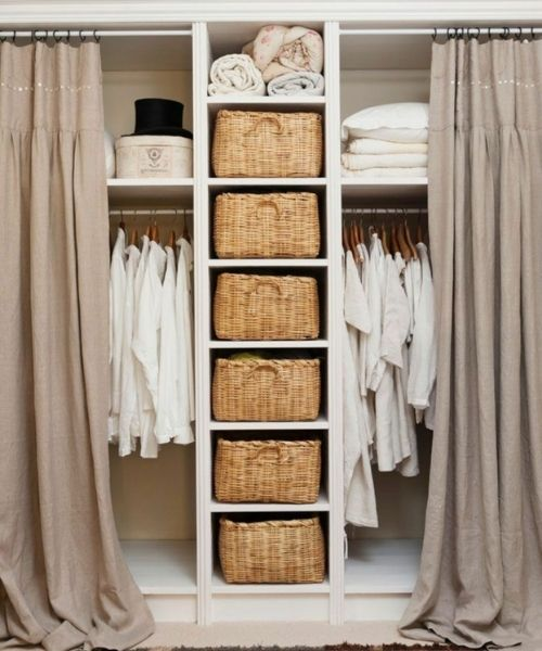 Inspirations & Storage Essentials for an organised and stylish wardrobe_Storage Basket Compartments