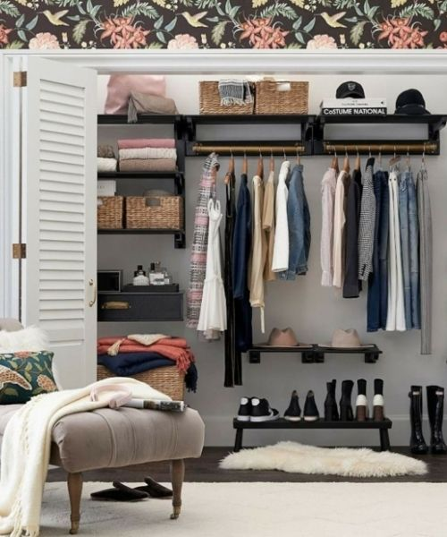 Inspirations & Storage Essentials for an organised and stylish wardrobe_Walkin Wardrobe_Boutique Style