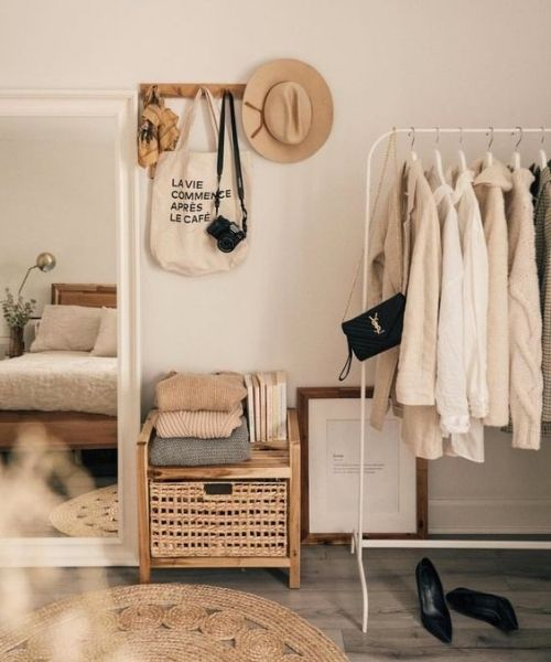 Inspirations & Storage Essentials_Dressing Area_natural colours_Boho Style