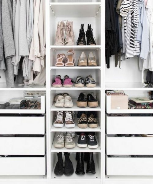 Inspirations & Storage Essentials for an organised and stylish wardrobe_beautiful shoe storage