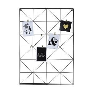 Vision Board_Mood Board Material_Grid Board_Triangles_black