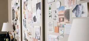 Vision Board_Mood Board_Three Boards on a Wall