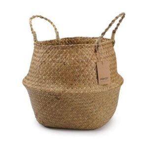 Boho Basket_natural brown