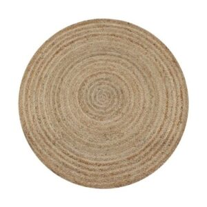 Boho Carpet_round_natural brown_Straw Carpet