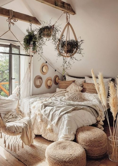 Boho Decoration_Natural Decoration_Cosy Bedroom