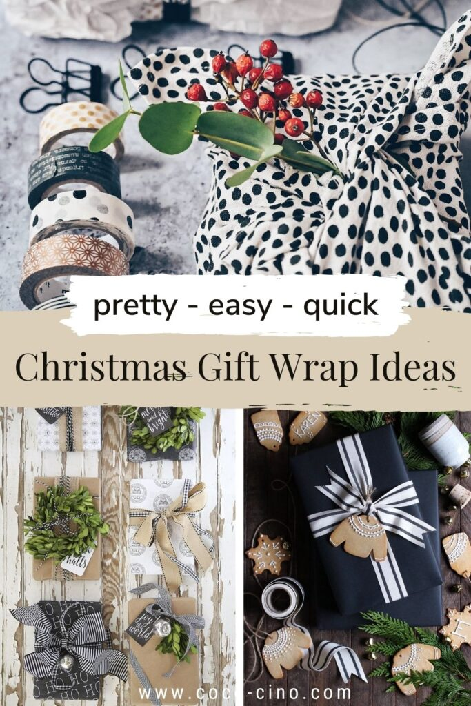 50 sustainable Christmas Gift Wraps Ideas_easy_quick_pretty