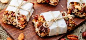 Gift Guide for Health and Fitness Lover_Nut Bars with gift packaging