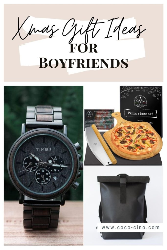 Gift Guide for Him_xmas gift ideas for boyfriend_watch_pizza stone set_backpack