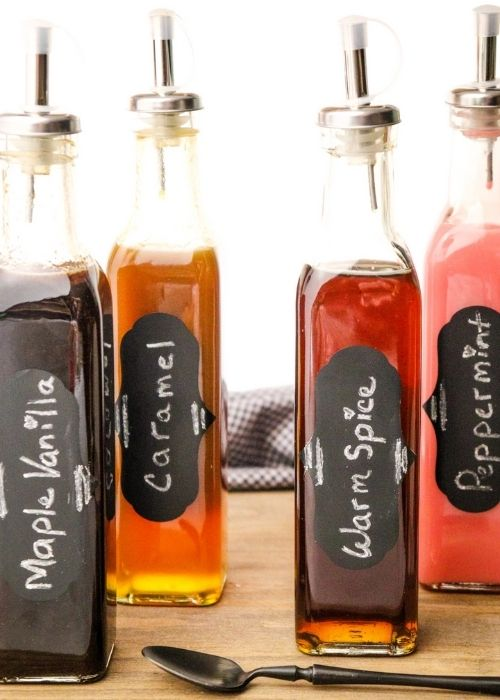 Gift Guide for Last Minute DIY Gifts_Homemade Syrup