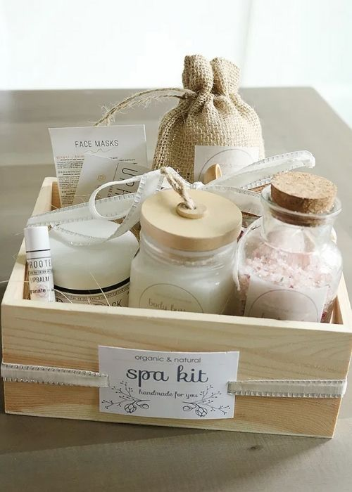 Gift Guide for Last Minute DIY Gifts_Homemade Wellness Set