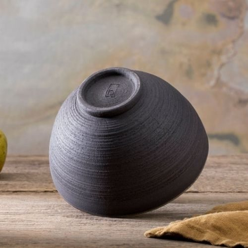 Beautiful Bowl Sets for Your Healthy Breakfasts_Bowl Set_Ceramic_round_black_creme
