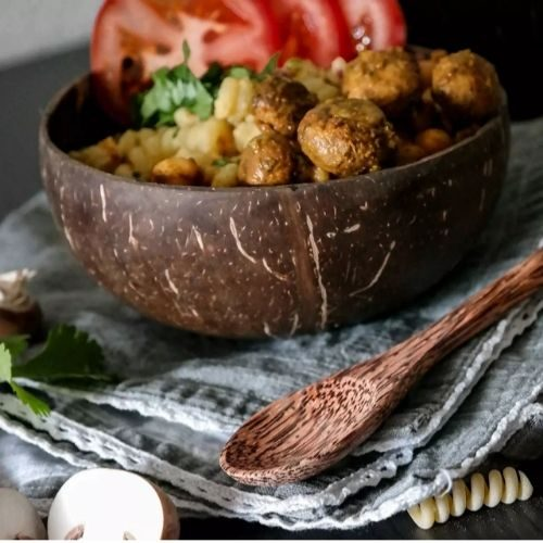 Beautiful Bowl Sets for Your Healthy Breakfasts_Bowl Set_Coconut Bowl_riffles
