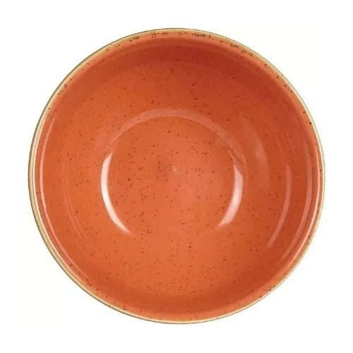 Porcelaine_rustic_round_brown_red