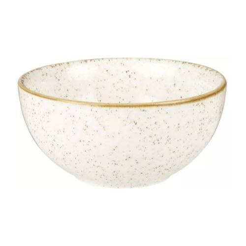 Porcelaine_rustic_round_brown_white