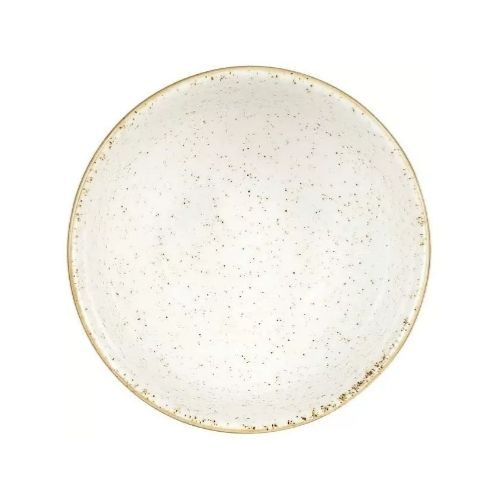 Bowl Set_Porcelaine_rustic_round_brown_white