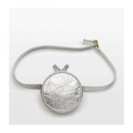 Gift Guide for Best Friend_Sustainable Gifts_sustainable silver belt bag