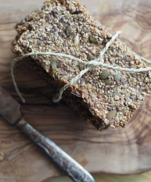 Gift Guide for Healthy and Fitness Lover_Homemade Crip Bread