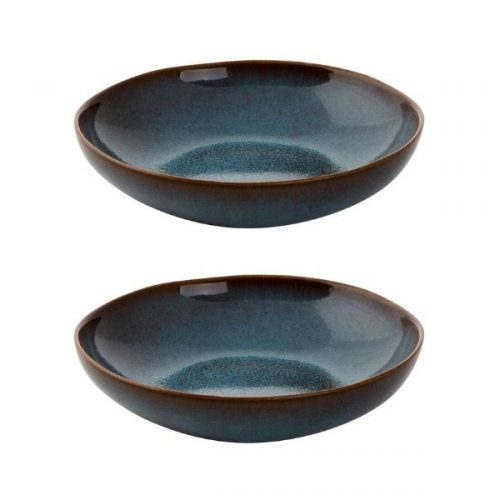 Gift Guide for Health and Fitness Lover_Table Ware_Smoothie Bowl Set blue and black