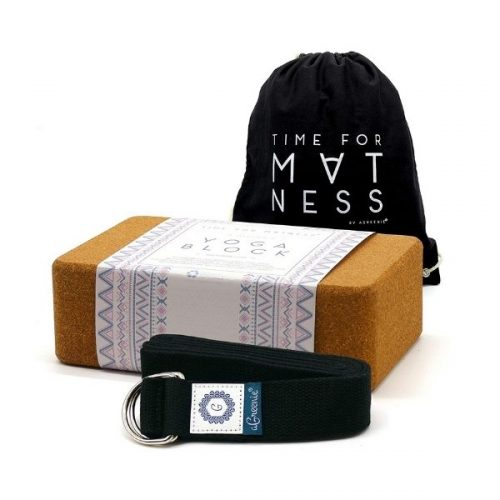 Gift Guide for Health and Fitness Lover_Yoga Blocks and Belt
