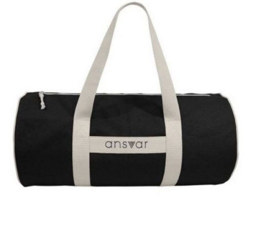 Gift Guide for Health and Fitness Lover_sport bag black and white