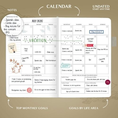 Productivity Planner_Legend Planner Weekly_undated planner_inside_1