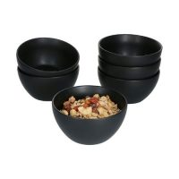Kitchen Essentials_Smoothie Bowl Set_six bowls_black