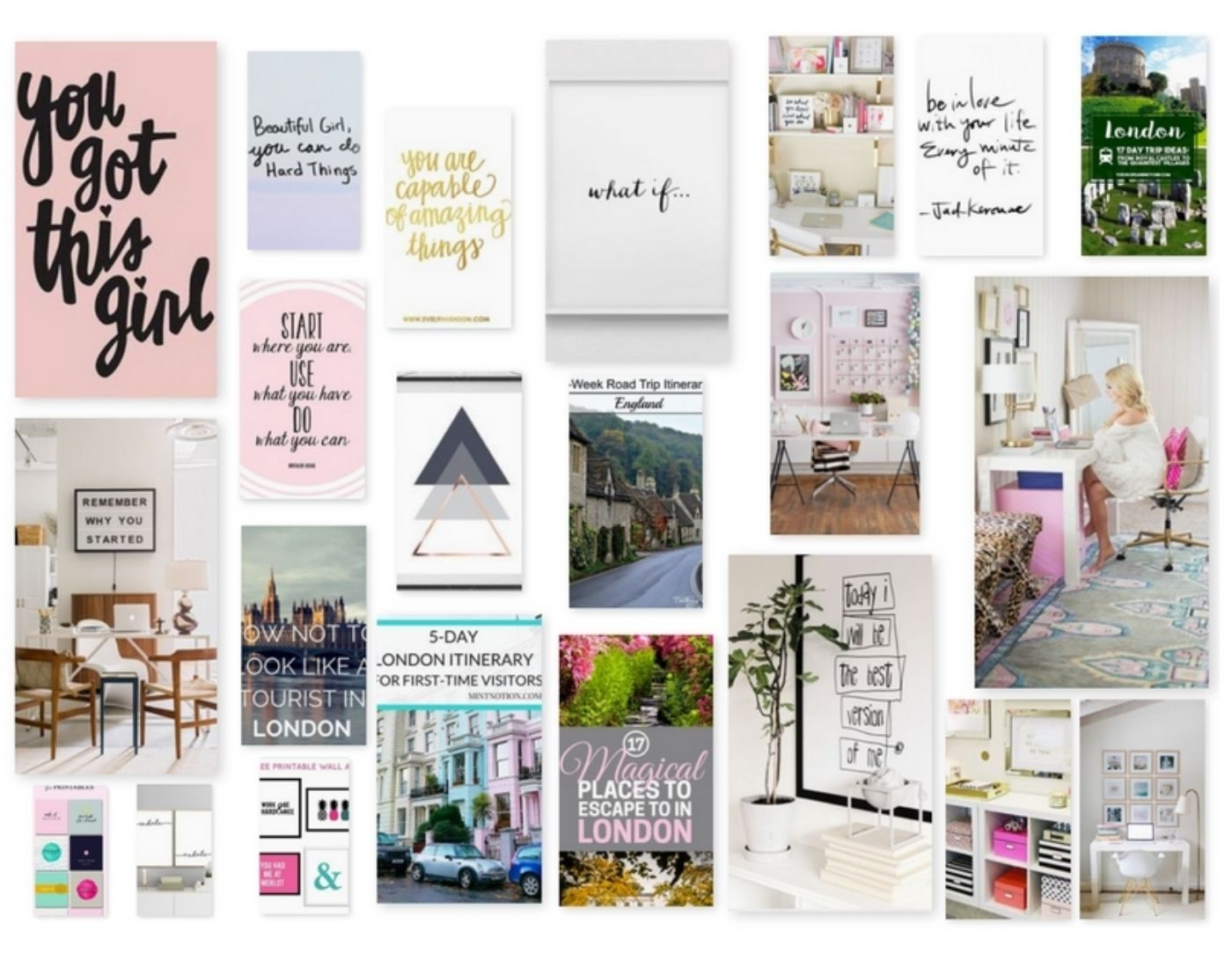 Vision Board_Mood Board_Digital Board_Pinterest Board_Idea
