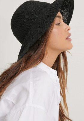 Coco-Cino_Lifestyle and Fashion__accessories_hats_modern black punched hat