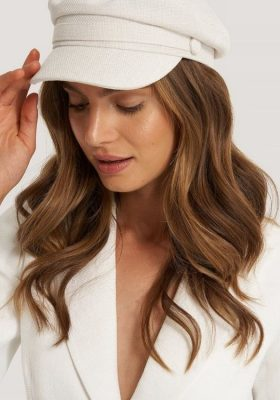 Coco-Cino_Lifestyle and Fashion__accessories_hats_white peaked cap with white button