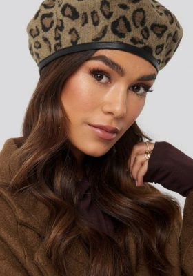 Coco-Cino_Lifestyle and Fashion_accessories_hats_elegant french beret in leopard print