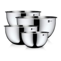 Kitchen Essentials_four mixing bowls in different sizes_metal